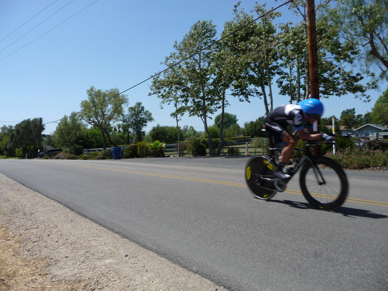Dave Zabriski on the Time Trial in Solvang